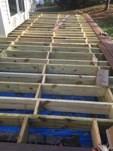 deck construction in virginia region